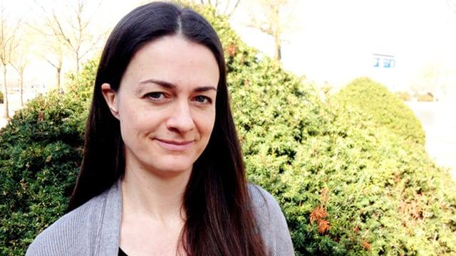 Auf dem Bild ist die Autorin Annelie Wendeberg zu sehen.