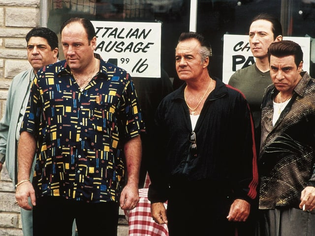 Filmstill aus der HBO-Serie «The Sopranos».