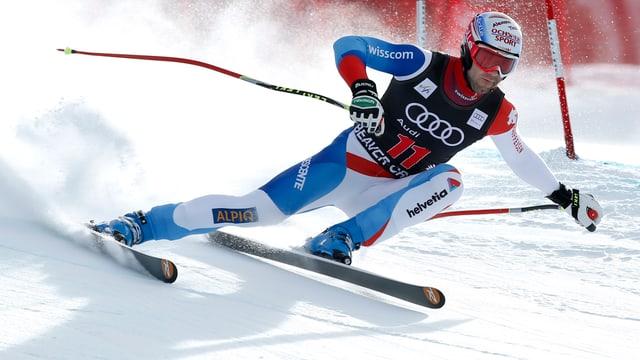 Didier Défago war beim 3. Training in Beaver Creek der beste Schweizer.
