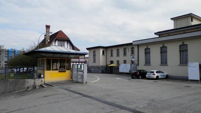 Häuser, ehemalige Produktionshallen