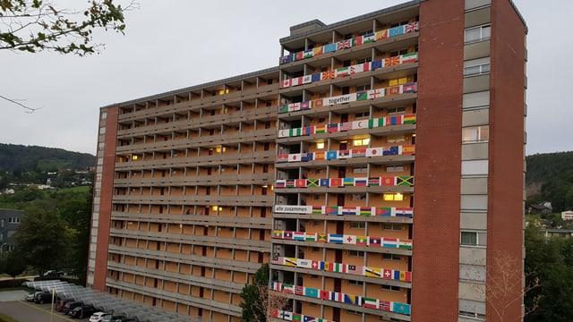 Weiermatt-Hochhaus von aussen