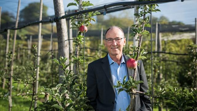 Urs Niggli, Direktor des Forschungsinstituts für biologischen Landbau (FiBL) in Frick