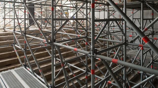 Zentrale Halle im Erweiterungsbau