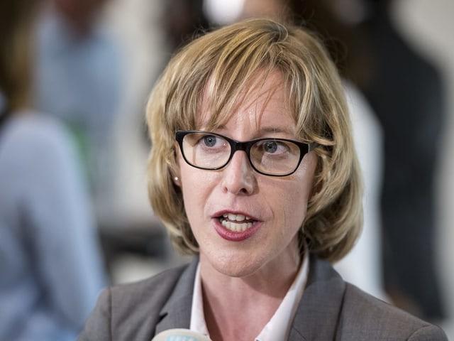 SP-Politikerin Barbara Gysel.