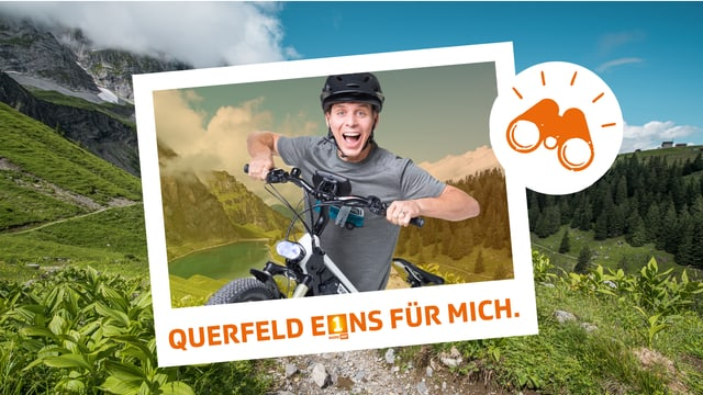 Reto Scherrer fährt mit dem E-Bike vom Unterengadin quer durch die Ostschweiz zurück ins Radiostudio Zürich.