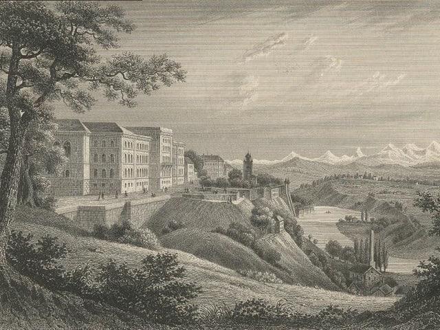Bundesrathaus, 1857-1881