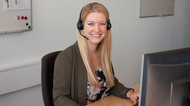 Sandra Kröbl, Leiterin Kundendienst SRF