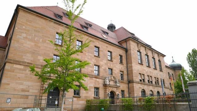 Der Justizpalast in Nürnberg.