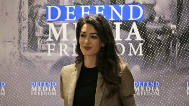 Menschenrechtsanwältin Amal Clooney