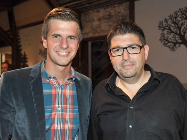 Nicolas Senn und Markus Flückiger.
