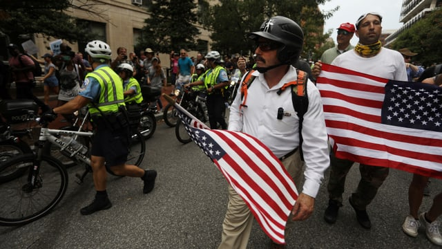 Kundgebung in Washington.