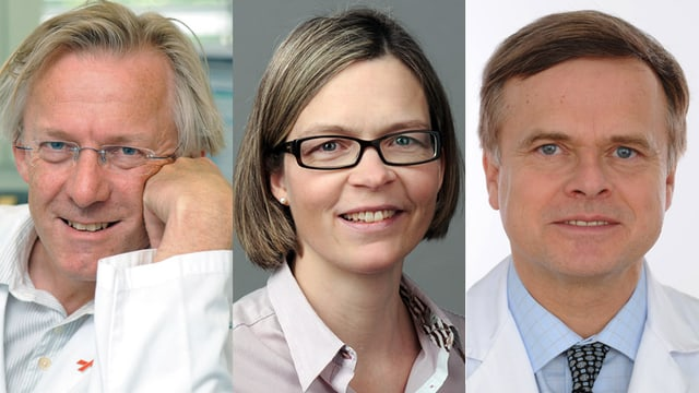 Claudia Erne, Susanne Rellstab und Ursula Vith