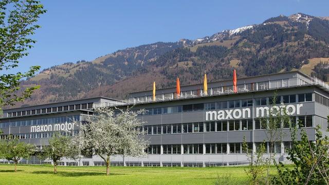 Maxon Motor Gruppe Hauptsitz in Sachseln