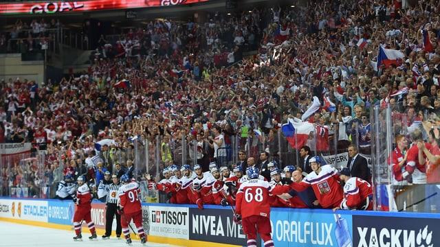 Ekstase in der O2 Arena in Prag.