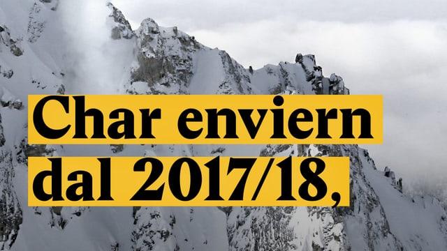 Laschar ir video «Char enviern dal 2017/18,»