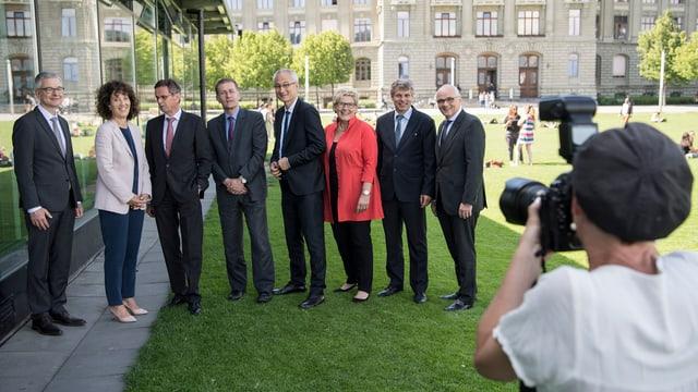 Portrait Berner Regierungsrat