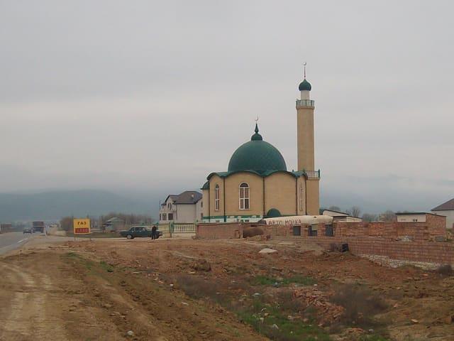 Überall im russischen Nordkaukasus stehen neue Moscheen.