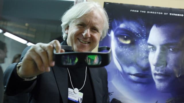 David Cameron vor Avatar-Poster