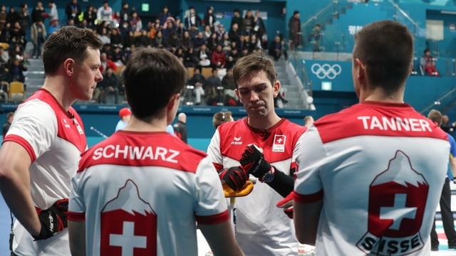 Equipa da curling svizra.