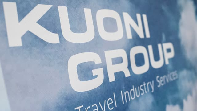 Il logo da la gruppa Kuoni.