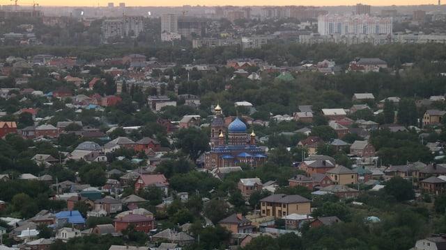 Vista sur Rostov al Don.