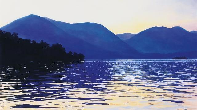 See in einer Berglandschaft