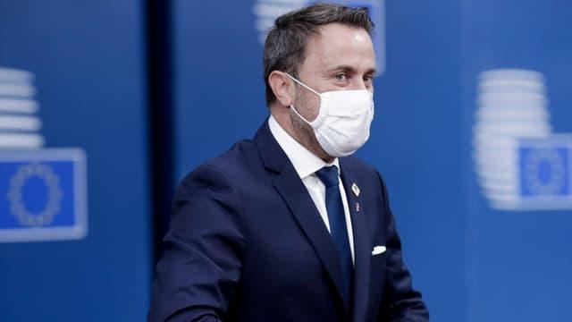 Zu sehen Xavier Bettel, der Premier Luxemburgs