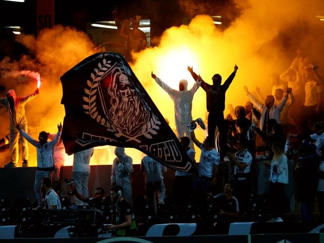 Internationale Fussball-News - Uefa greift durch: Frankfurt 2 Mal ohne Fans