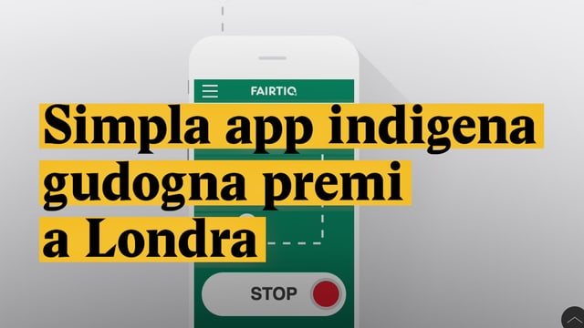 Laschar ir video «Simpla app indigena gudogna premi a Londra»