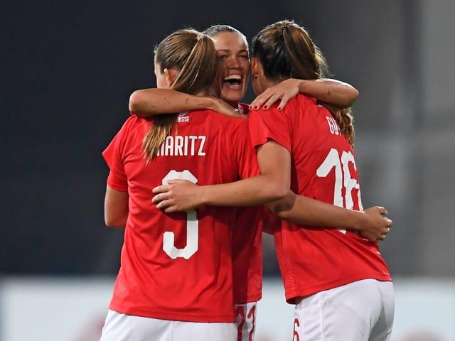 Die Schweizer Frauen-Nati.