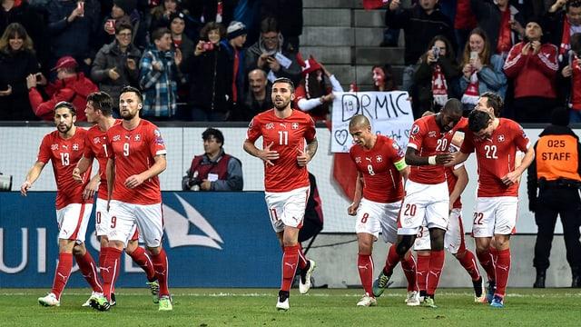 Eine überzeugende Leistung führte die Nati in Luzern zum Sieg.