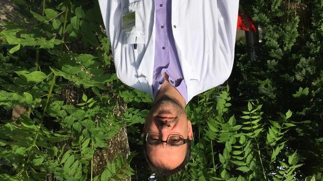 Oberarzt Matthias Hoffmann forscht am Kantonsspital St. Gallen an einer Impfung für den Schutz vor Hepatitis C.