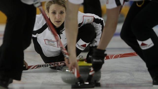 Am 3. WM-Tag musste die Schweiz mit Skip Silvana Tirinzoni unten durch.