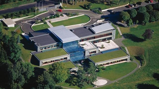 La sedia principala dal WEF a Cologny.