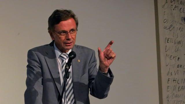 FDP-Regierungsrat Hans-Jürg Käser