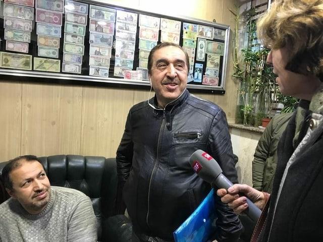 Die beiden Brüder in der Bagdader Wechselstube