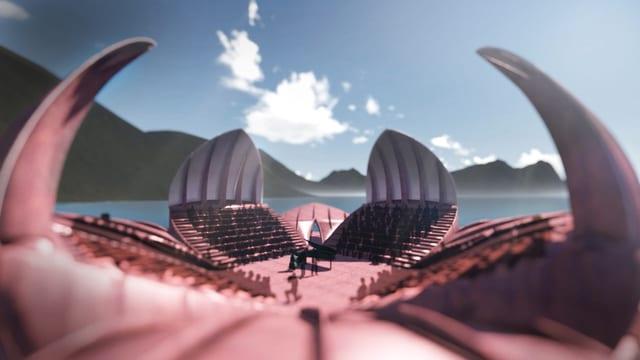 Schwimmende Plattform «Seerose»
