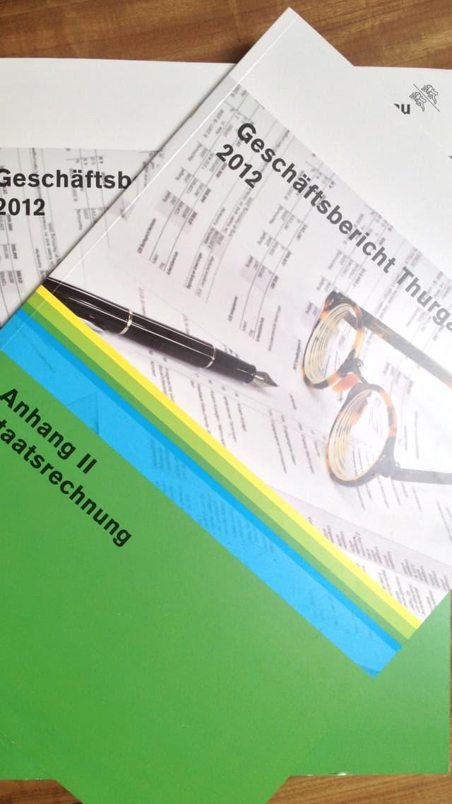Thurgauer Staatsrechnung 2012