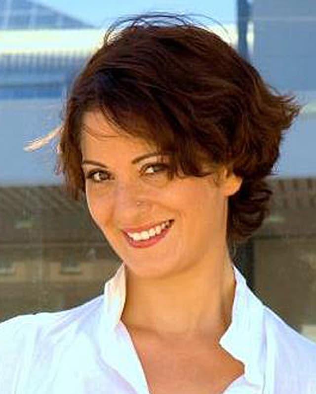 Schnellleserin Filiz Scarcella.