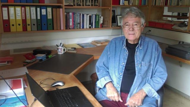 Jürg Martin Gabriel, professur emerità da l'ETH Turitg.