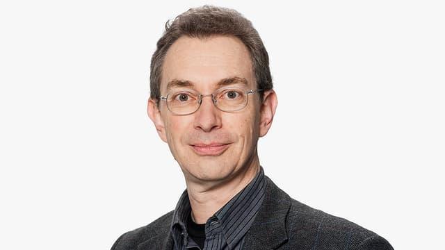 Porträt des DRS 2-Filmredaktors Michael Sennhauser.