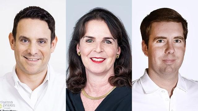 Portraitbilder der Chat-Experten