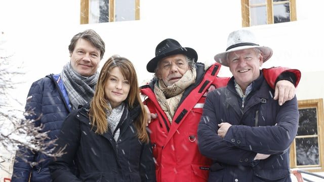 Da sanestra; Roland Suso Richter, Ine Paule Klink, Christian Kohlund e Klaus Graf