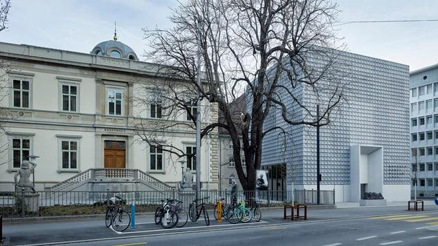 Die zwei Bauten des Bündner Kunstmuseums
