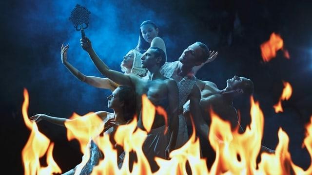 Szene aus Barokko im Gogol-Zentrum.