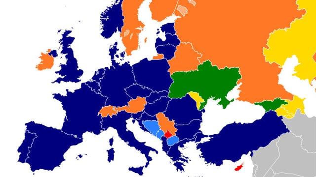 Grafik mit Natostaaten.