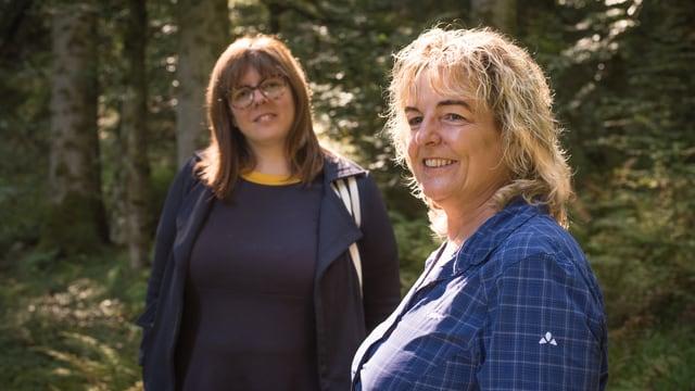 Beatrice Kern und Sonja Grossenbacher