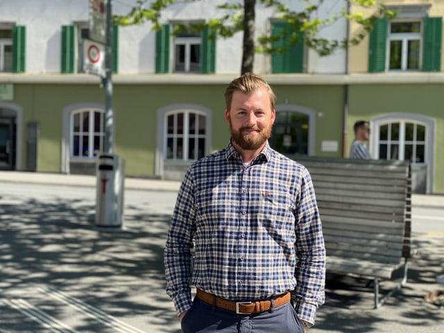 Ueli Möller, president da l'uniun da pestgaders dal Grischun.