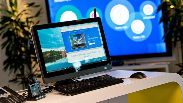 L'entschatta da l'onn era Windows 10 vegnì preschentà a la publicitad.