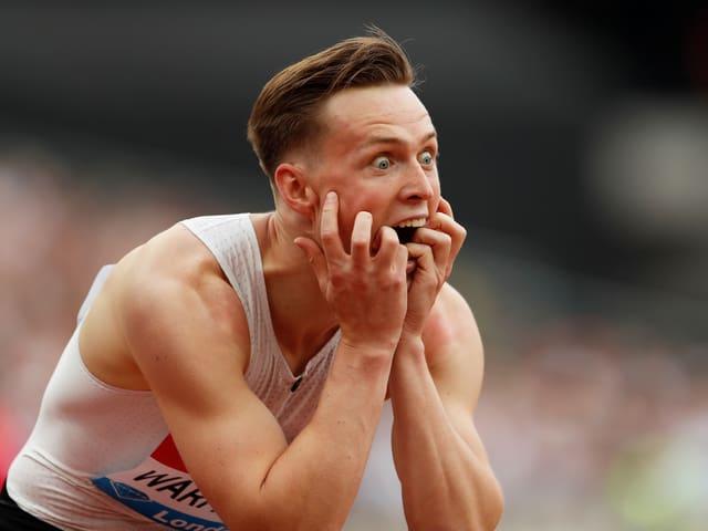 400-m-Hürden-Weltmeister Karsten Warholm.